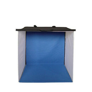Lumiere L. A. L60258 24 in Photo Tent 4 color Black White Blue Gray Background