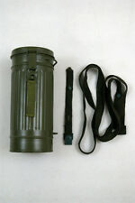 WWII German Gas Mask Canister replica field gray
