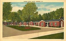 Cheraw South Carolina Sc Ingram Hotel Court Postcard