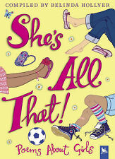 She's All That: Poems About Girls, New, Belinda Hollyer Book