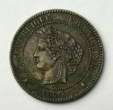 Dated : 1890 - France - 10 Centimes - 10c Coin - French Coin