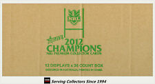 FACTORY CASE! Select 2012 NRL CHAMPIONS CARD FACTORY CASE (12 BOXES + CASE CARD)