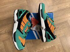 785bcdd2c4d48 adidas Origials ZX 8000 Green Black Orange Mens Running Shoes SNEAKERS  D65459 UK 10
