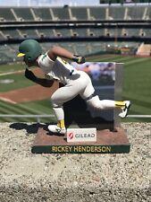 Rickey Henderson Bobble-Legs Bobblehead Oakland A's SGA 7/22 NIB MINT CONDITION