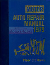 SHOP MANUAL SERVICE REPAIR BOOK MOTOR AUTO 1974-1979