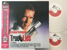 Arnold Schwarzenegger True Lies with Obi Laser Disc Japan PILF-7321 LD
