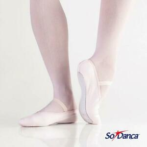 CLOSING DOWN SALE - 75% OFF - So Danca Canvas Full Sole Ballet Shoe