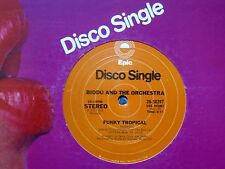 "BIDDU AND THE ORCHESTRA~FUNKY TROPICAL / BOOGIETHON~1977 DISCO 12"" *ORIGINAL*"