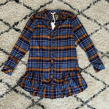 NWT MATILDA JANE Moments With You General Store Tunic Top Women's M Medium