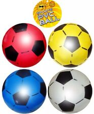 PVC Sports Football, 4 Supplied Red, blue, yellow, white, 22.5cm Wd Pump  UK