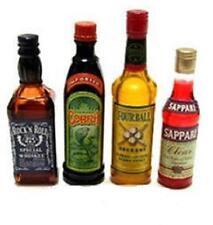 megahouse miniature cheers whisky campari liquor
