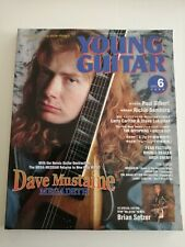 YOUNG GUITAR JAPAN MAGAZINE. DAVE MUSTAINE MEGADETH. NEW !