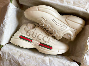 Mens Gucci Rhyton Sneakers - Size UK 10