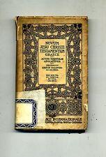 NOVUM JESU CHRISTI TESTAMENTUM GRAECE # Società Editrice Internazionale 1931