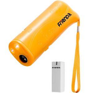 Frienda LED Ultrasonic Dog Trainer Device 3 in 1 Stop Barking Stop Bark H... New