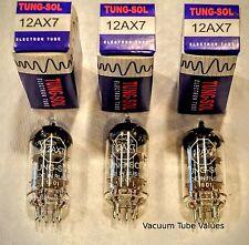 Tung-Sol TRIO THREE NEW  12AX7 ECC83 Tubes