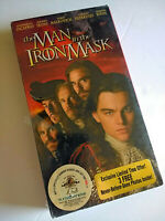 The Man in the Iron Mask DiCaprio Irons Malkovich VHS New/Sealed