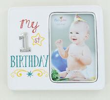 "Demadco Nat & Jules My 1st Birthday Frame - 4"" x 6"" Photo"