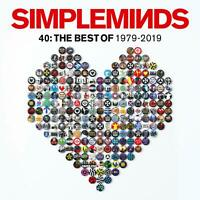 Simple Minds - 40: The Best Of 1979-2019 [CD] Sent Sameday*