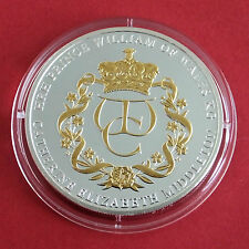 WILLIAM & CATHERINE 2010 ENGAGEMENT ANNOUNCEMENT 40mm PROOF MEDAL