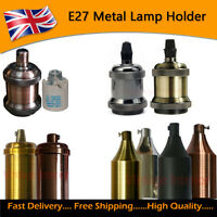 E27 Metal Lamp/ Bulb Holder Light Guard Ideal for Vintage Edison Filament Bulbs