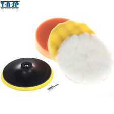 "Tasp 125mm 5"" Car Polishing Buffing Pad Set Wet Foam Polishing Pads for Car Care"