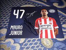 Signierte AK Mauro Junior PSV EINDHOVEN NEU MEGA RAR