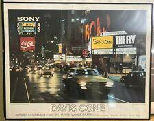 Davis Cone - Criterion Center - O.K. Harris Gallery NYC Poster, 1988