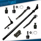 9pc Ball Joint Tie Rod Drag Link Kit for Ford F-250 F-350 Super Duty -4WD 4x4