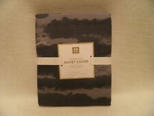 Pottery Barn Teen Forrester Duvet Cover Gray Shades Full/Queen New with Tags