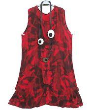 SARAH SANTOS Sommer Leinen Kleid Linen Dress Robe Vestido XL 48 50 Lagenlook