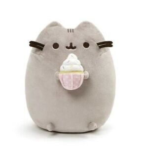 "GUND Authentic Pusheen Sprinkled Cupcake 9.5"": Inch Soft Plush"