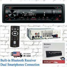 Sony MEX-N4300BT CAR AUDIO CD Receiver Dual Smartphone W/ Bluetooth USB AUX