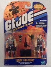 GI JOE ~ 2002 CRIMSON TWINS ~ TOMAX & XAMOT ~ MISB MIB MOC COLLECTORS EDITION
