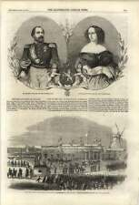 1861 King And Queen Of Holland Visit Amsterdam