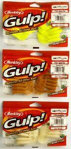 11Stk Berkley Culp Jigging Crub 3 1/8in Rubber Fish Predators, Bait, Zander,
