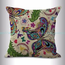 US SELLER, outdoor throw pillow covers butterfly cushion cover