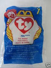 McDonalds #7 Teenie Beanie Babies ~ MEL ~ Factory Sealed Bag ~ FREE SHIPPING!