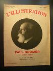 JOURNAL L'ILLUSTRATION TIRAGE HORS SERIE MAI 1932 PAUL DOUMER