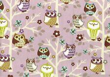 BPKaufmann Fabric Sit-N-A-Tree Plum  Cotton  Lavender Purple Gold Green Drapery