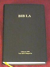 Haitian Creole Bible, Contemporary version, 1999, Black Vinyl Bible. Bib La