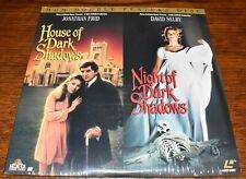House of Dark Shadows/Night of Dark Shadows Laserdisc MINT Factory Sealed WoW!