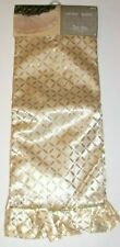 Christmas Tree Skirt 52 inches Gold Jaclyn Smith, New w/Tag