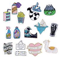 Fashion Lovely Cute Cartoon Enamel Lapel Collar Pin Corsage Brooch Jewelry Gift