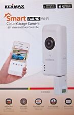 NEW EDIMAX IC-5160GC FULL HD WI-FI CLOUD GARAGE CAMERA 180° VIEW + DOOR CONTROL