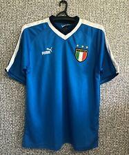 Italy National Football Team Vintage Shirt Soccer Jersey Maglia Camiseta Mens L