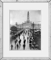 Photo: Masons marching, George Washington Masonic National Memorial Temple, 1932