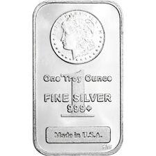 1 Oz Highland Mint Silver Bar Morgan Dollar Design 999 Fine