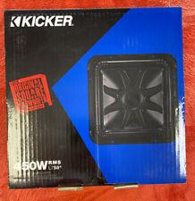 Kicker L7S8 Car Audio Solo-Baric 8 Subwoofer Square L7 Dual 4 Ohm Sub 44L7S84