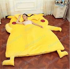 Pokemon Pikachu Cotton Filled Bed Tatami Mattress Quilt Sofa Great Xmas Big Gift